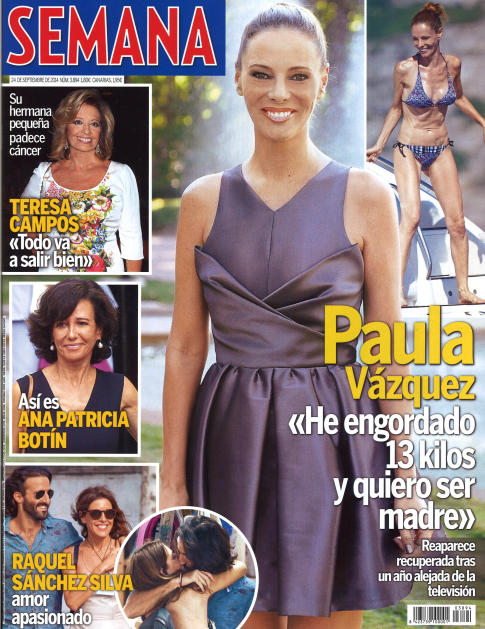 SEMANA portada 17 de Septiembre 2014