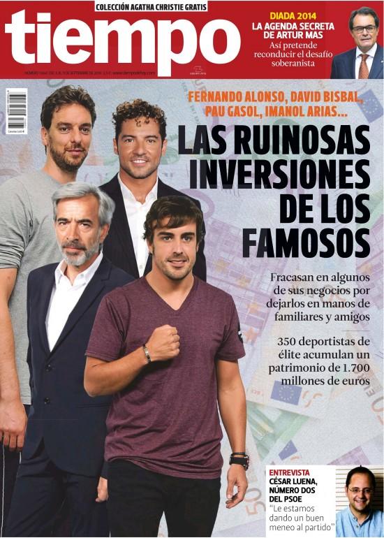 TIEMPO portada 8 de Septiembre 2014