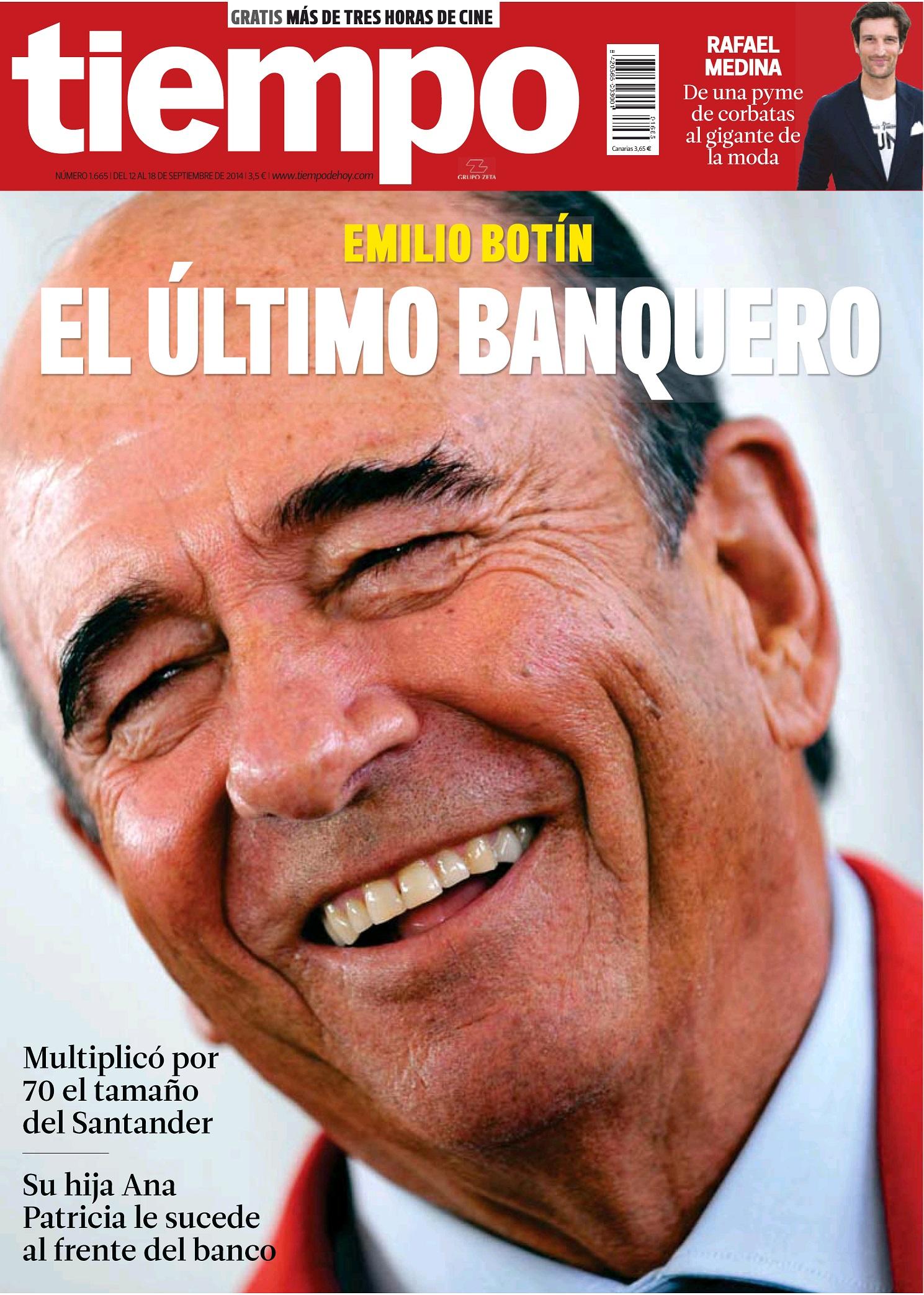 TIEMPO portada 14 de Septiembre 2014