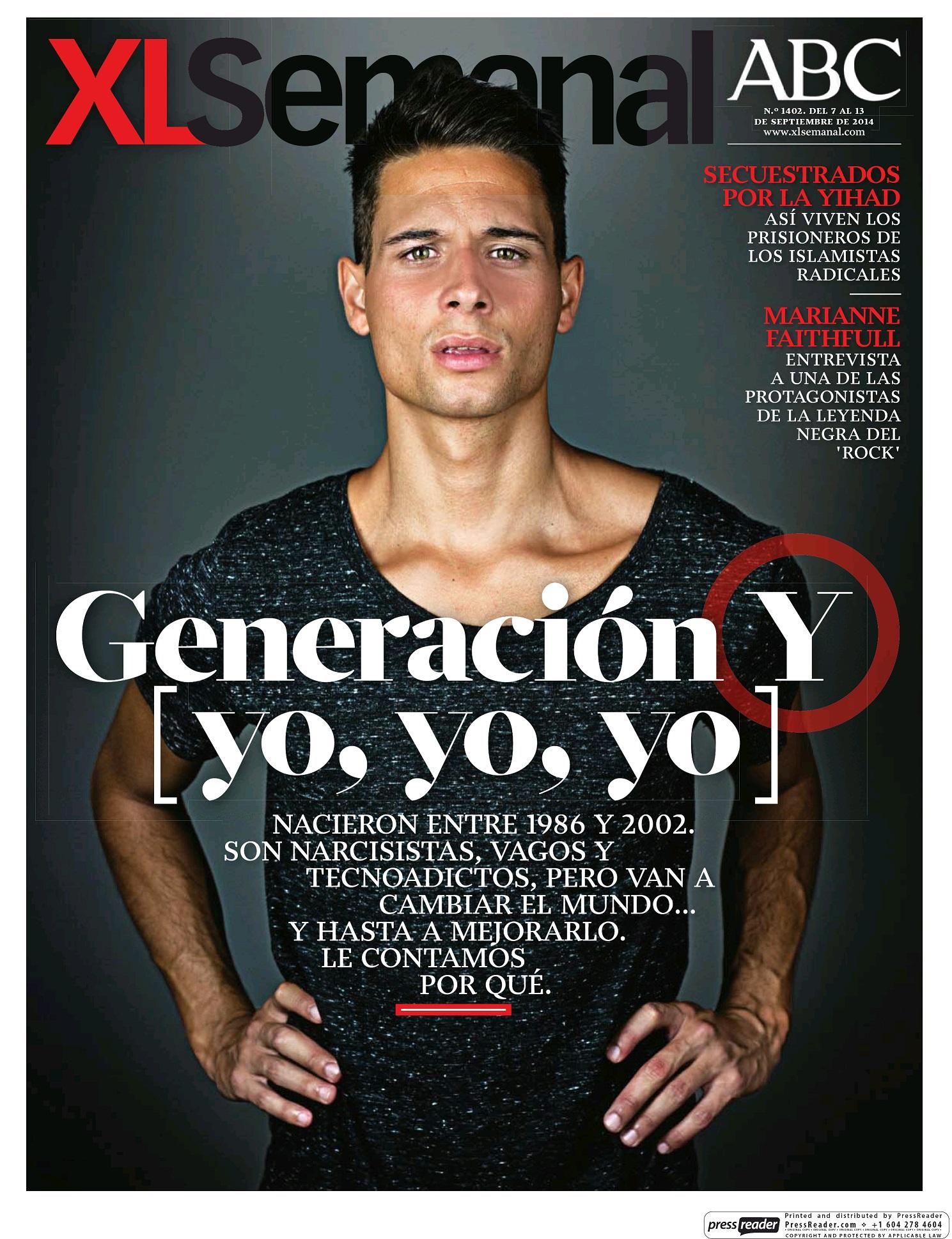 XL SEMANAL portada 8 de Septiembre 2014