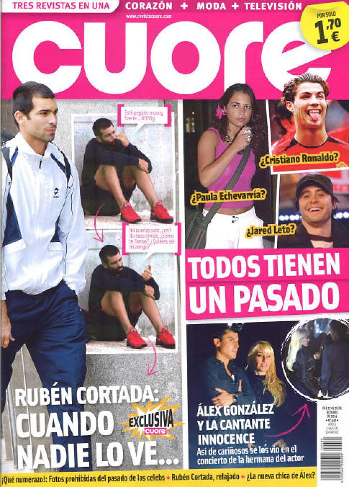 CUORE portada 22 de Octubre 2014