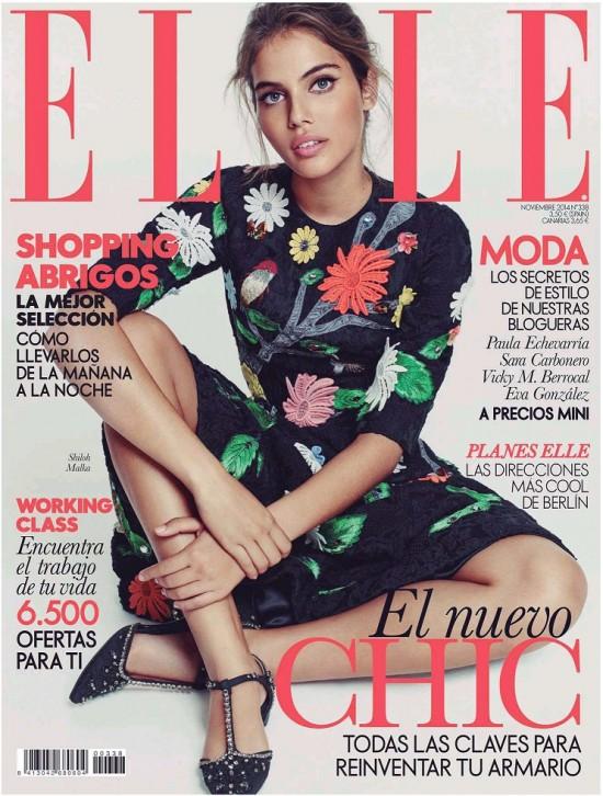 ELLE portada Noviembre 2014
