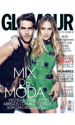 GLAMOUR portada Noviembre 2014