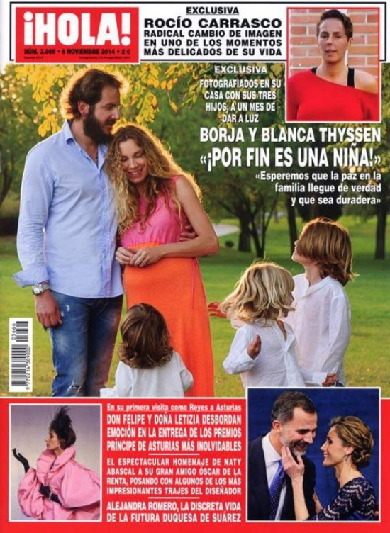 HOLA portada 29 de Octubre 2014