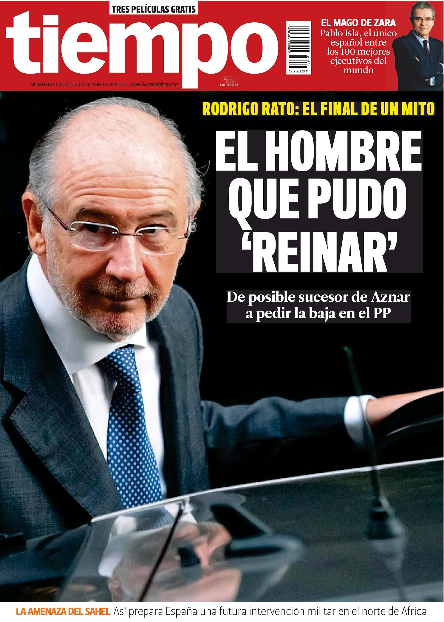 TIEMPO portada 26 de Octubre 2014