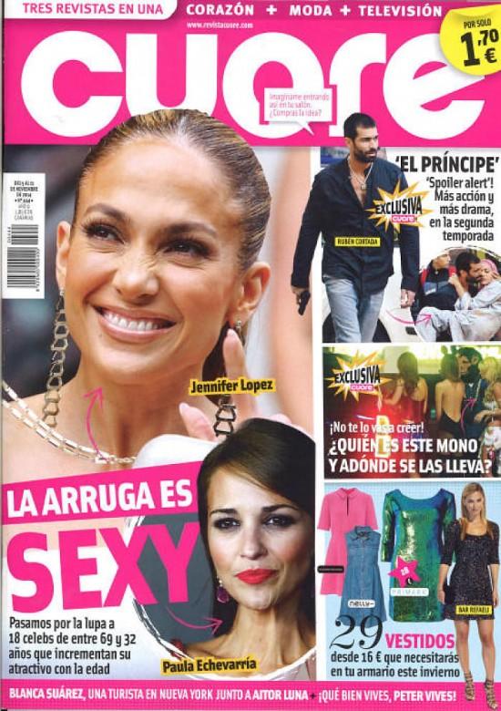CUORE portada 5 de Noviembre 2014