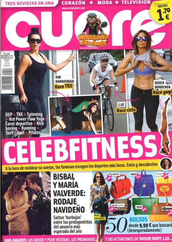 CUORE portada 26 de Noviembre 2014