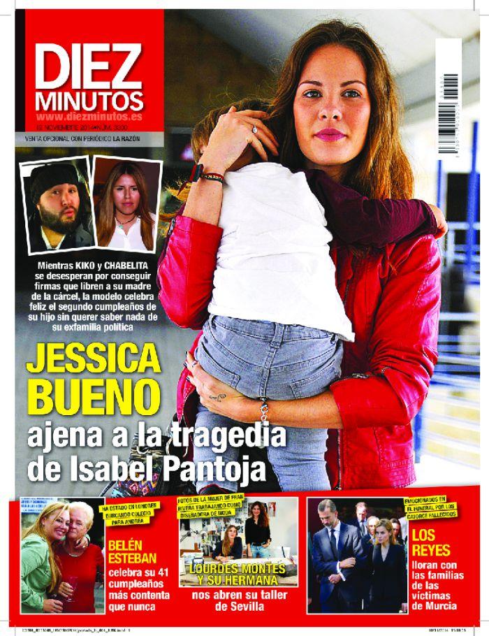 DIEZ MINUTOS portada 12 de Noviembre 2014