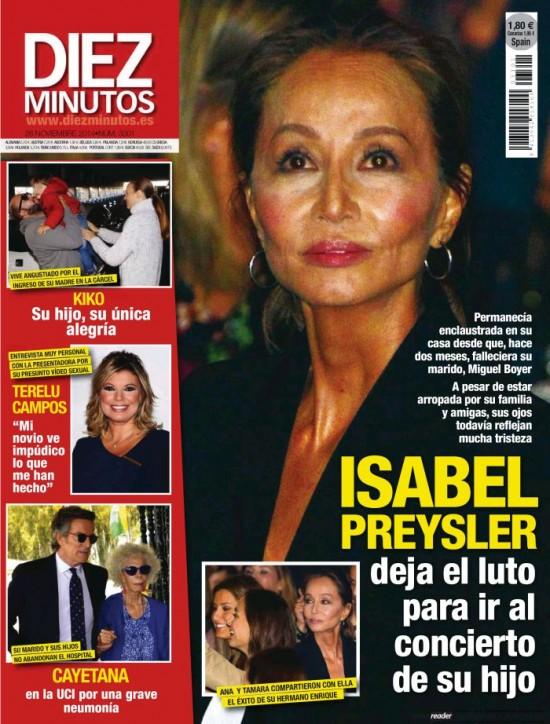 DIEZ MINUTOS portada 19 de Noviembre 2014