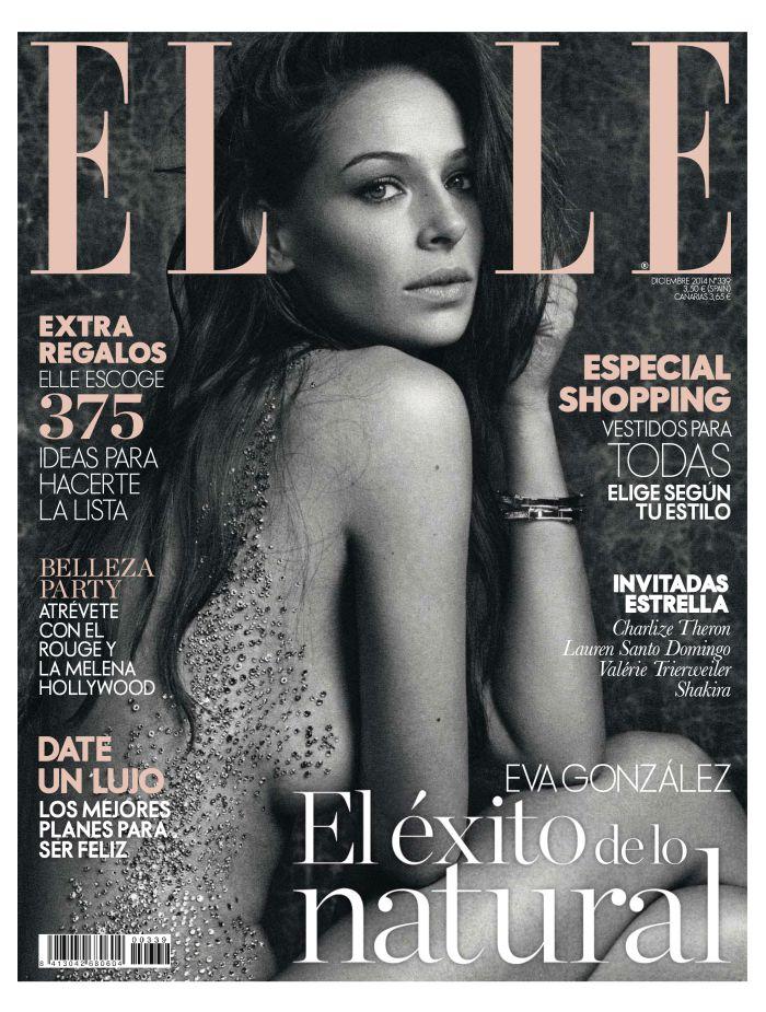ELLE portada Diciembre 2014