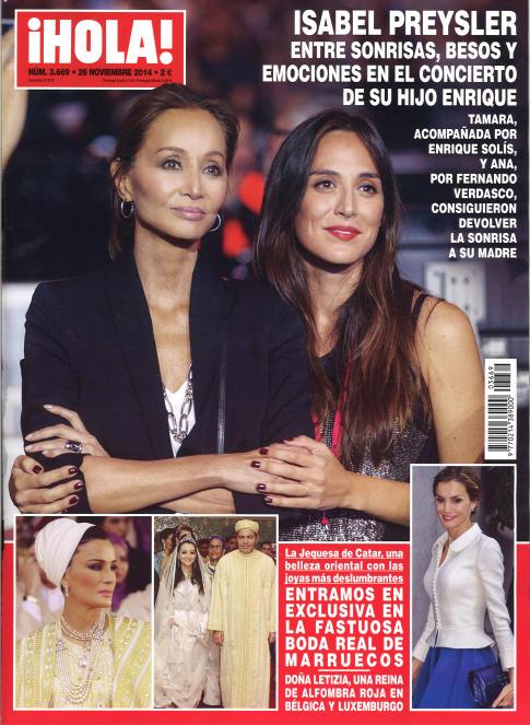 HOLA portada 19 de Noviembre 2014