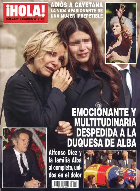 HOLA portada 24 de noviembre 2014