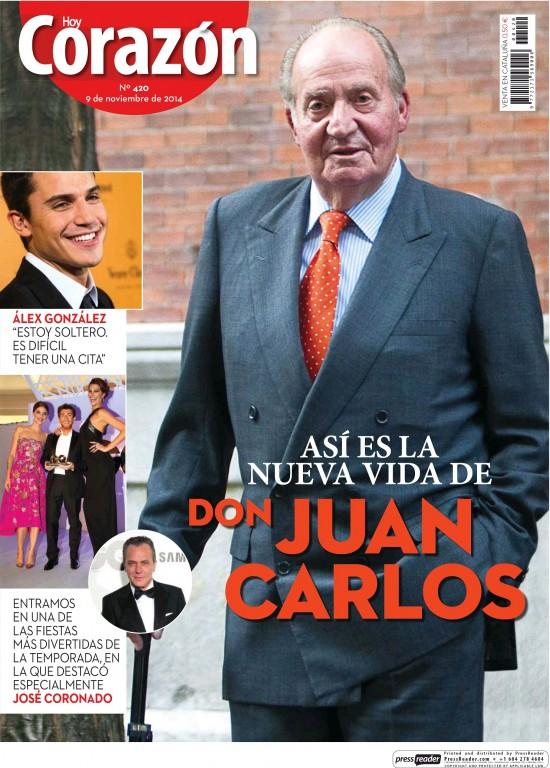 HOY CORAZON portada 10 de Noviembre 2014