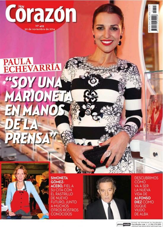 HOY CORAZON portada 30 de Noviembre 2014