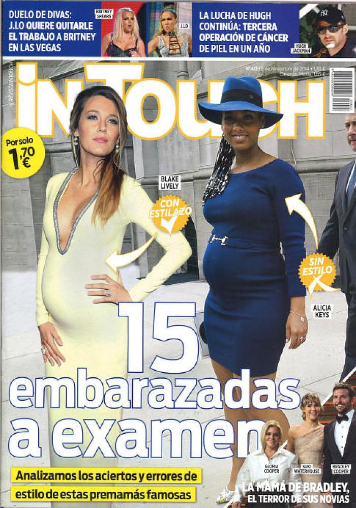 IN TOUCH portada 5 de Noviembre 2014