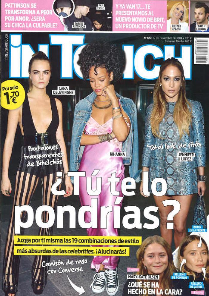 IN TOUCH portada 19 de Noviembre 2014