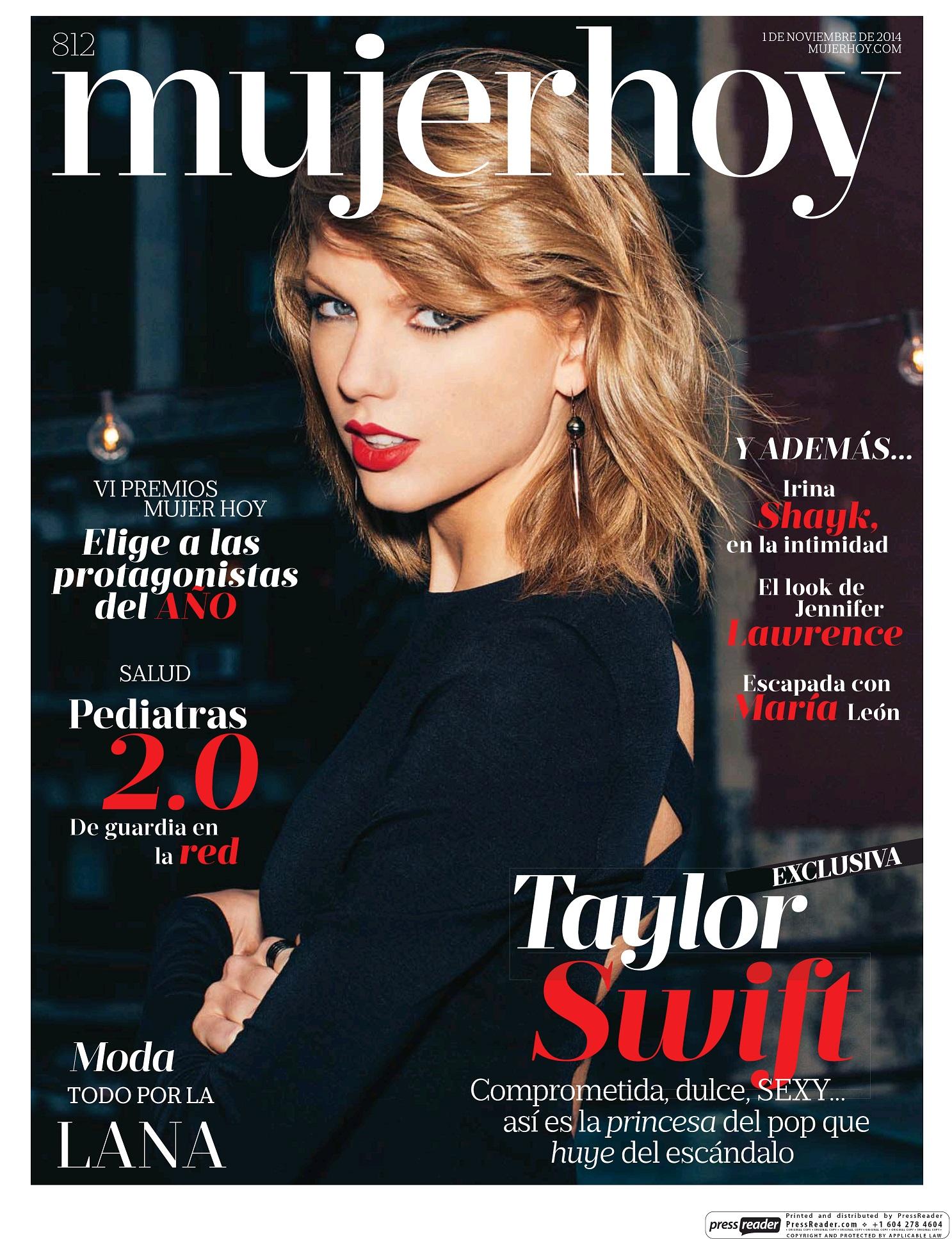 MUJER HOY portada 2 de noviembre 2014