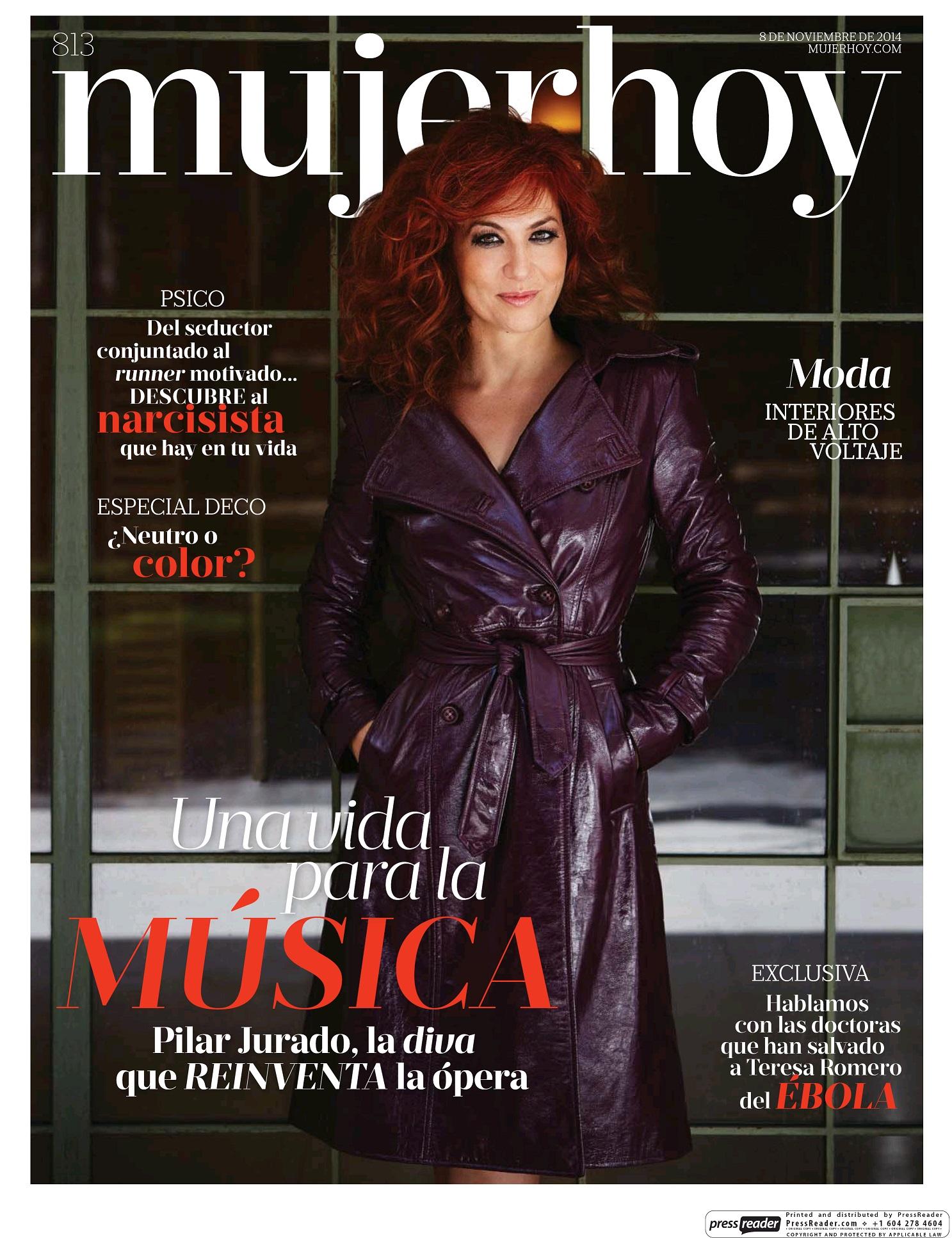 MUJER HOY portada 10 de Noviembre 2014