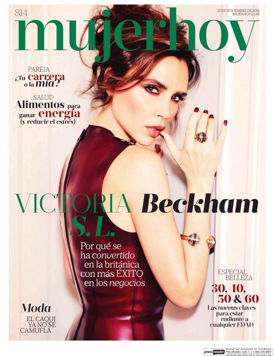 MUJER HOY portada 16 de Noviembre 2014