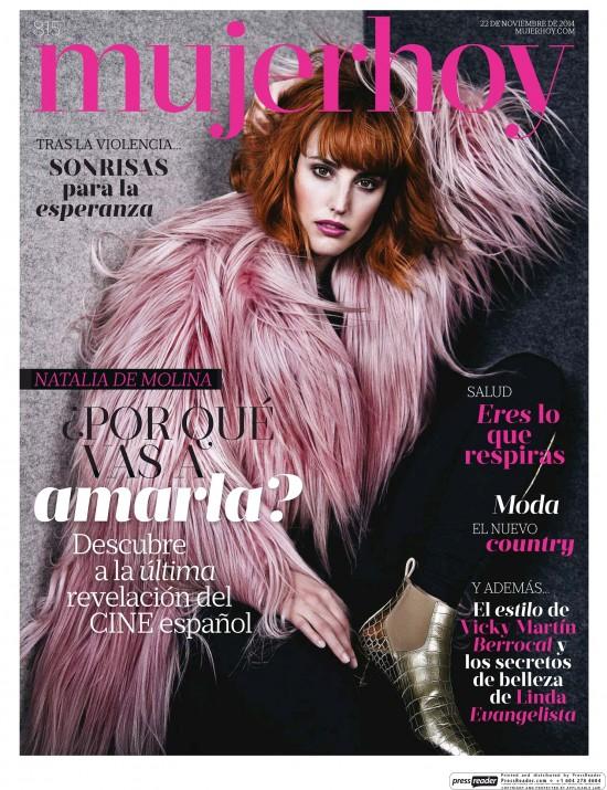 MUJER HOY portada 23 de Noviembre 2014