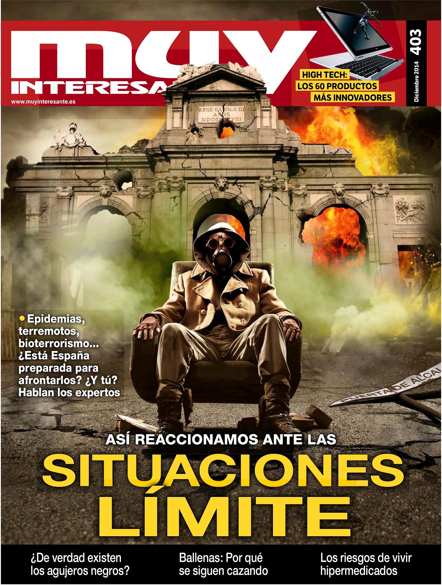 MUY INTERESANTE portada Diciembre 2014