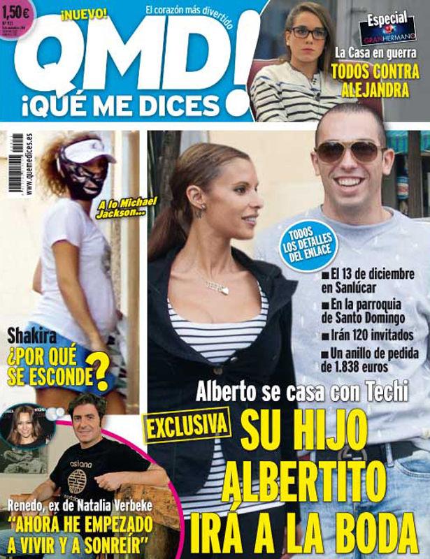 QUE ME DICES portada 3 de Noviembre 2014