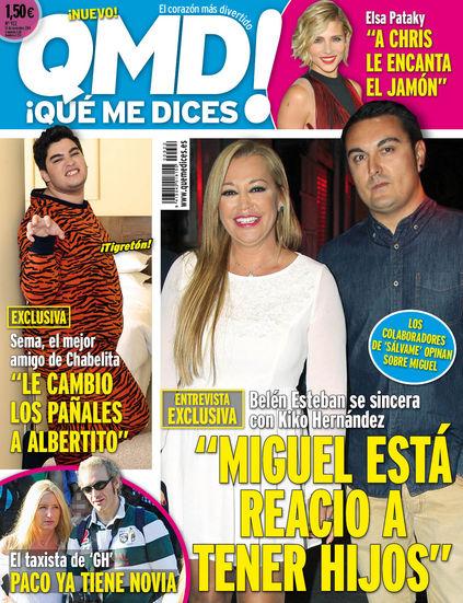 QUE ME DICES portada 10 de Noviembre 2014