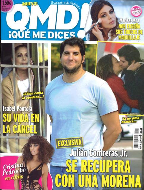 QUE ME DICES portada 24 de Noviembre 2014