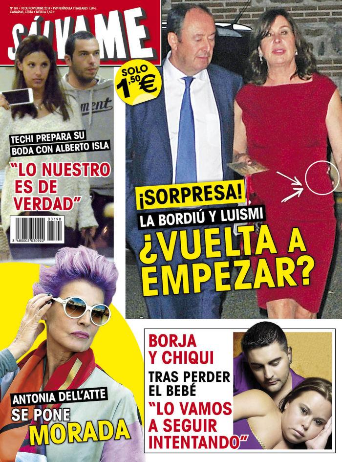 SALVAME portada 3 de Noviembre 2014