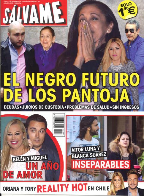 SALVAME portada 12 de Noviembre 2014