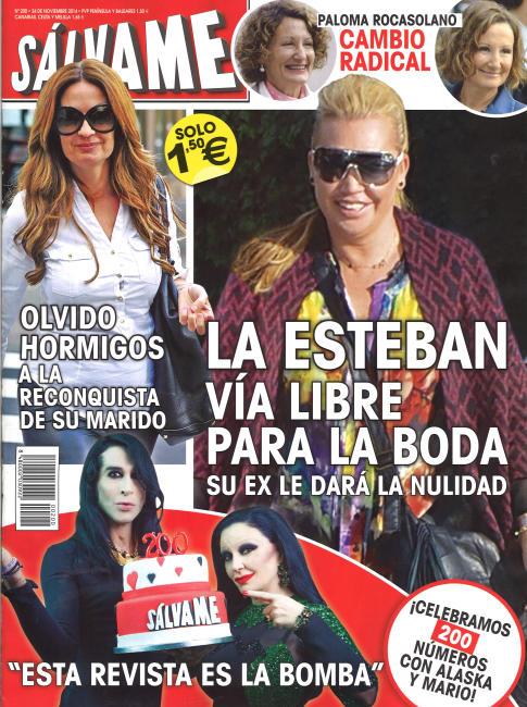 SALVAME portada 17 de Noviembre 2014