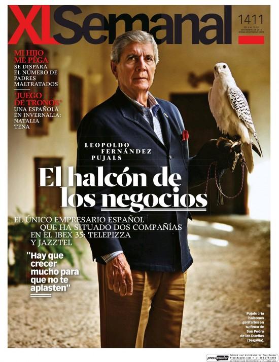 XL SEMANAL portada 10 de Noviembre 2014