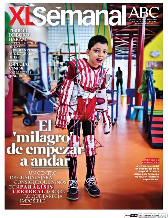 XL SEMANAL portada 30 de Noviembre 2014