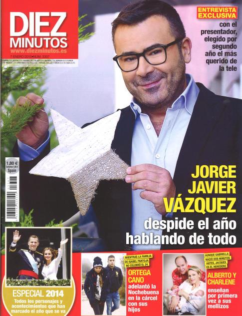 DIEZ MINUTOS portada 31 de Diciembre 2014
