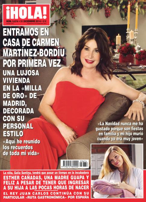 HOLA portada 24 de Diciembre 2014