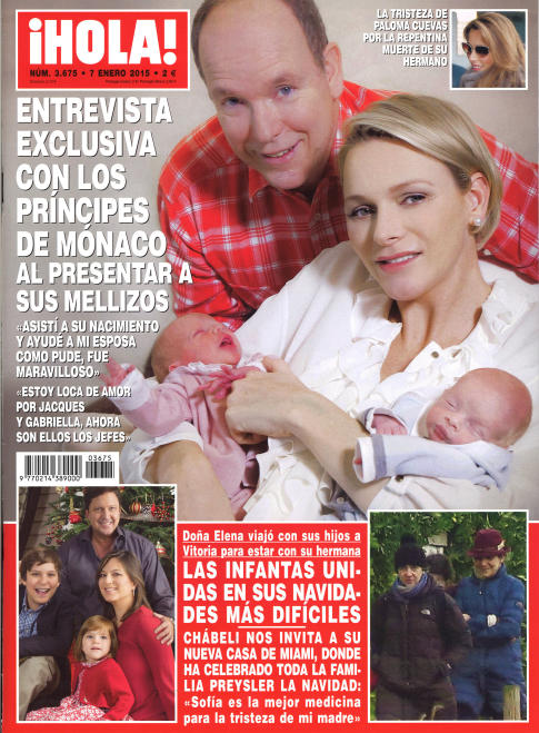 HOLA portada 31 de Diciembre 2014