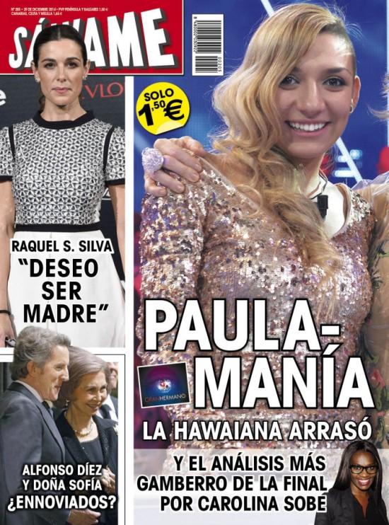 SALVAME portada 22 de Diciembre 2014