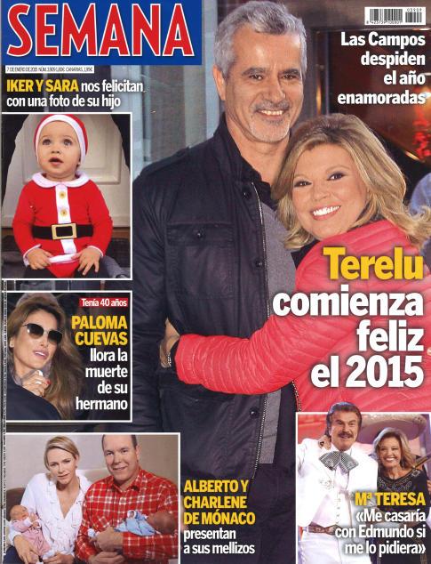 SEMANA portada 31 de Diciembre 2014