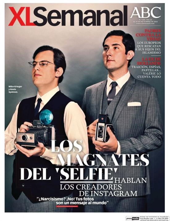 XL SEMANAL portada 21 de Diciembre 2014
