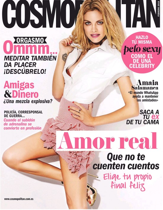 COSMOPOLITAN portada Febrero 2015