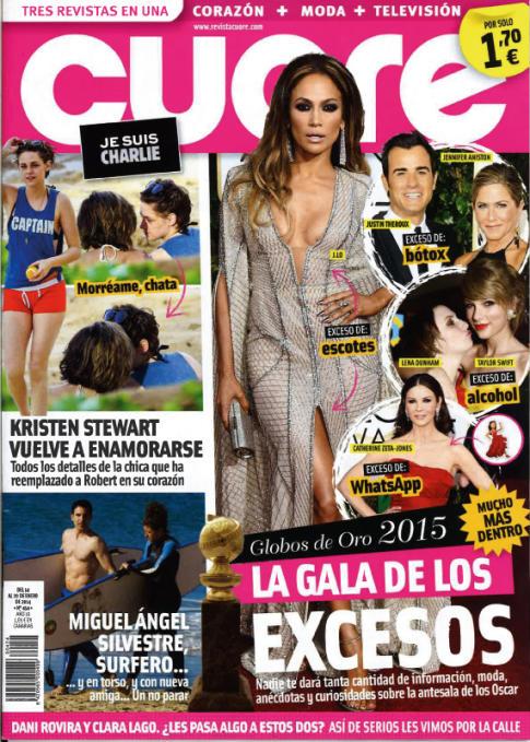 CUORE portada 14 de Enero 2015