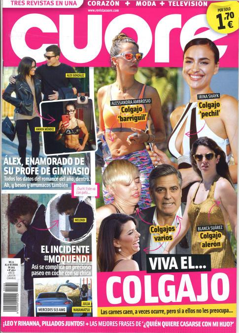 CUORE portada 21 de Enero 2015