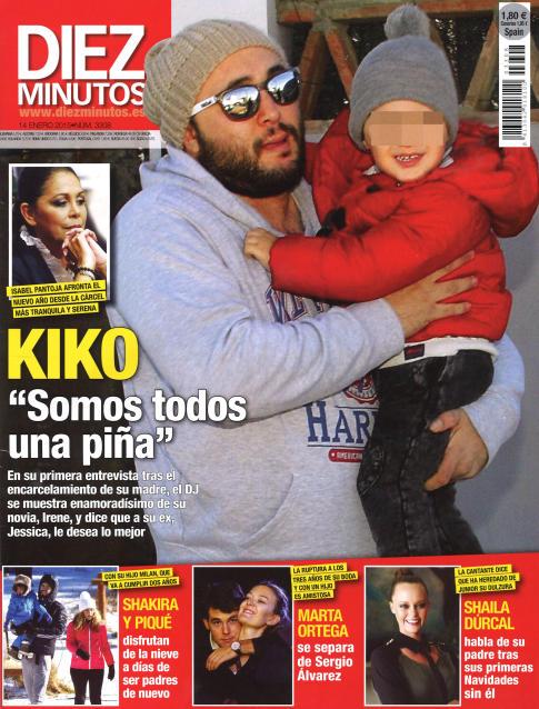 DIEZ MINUTOS portada 7 de Enero 2015