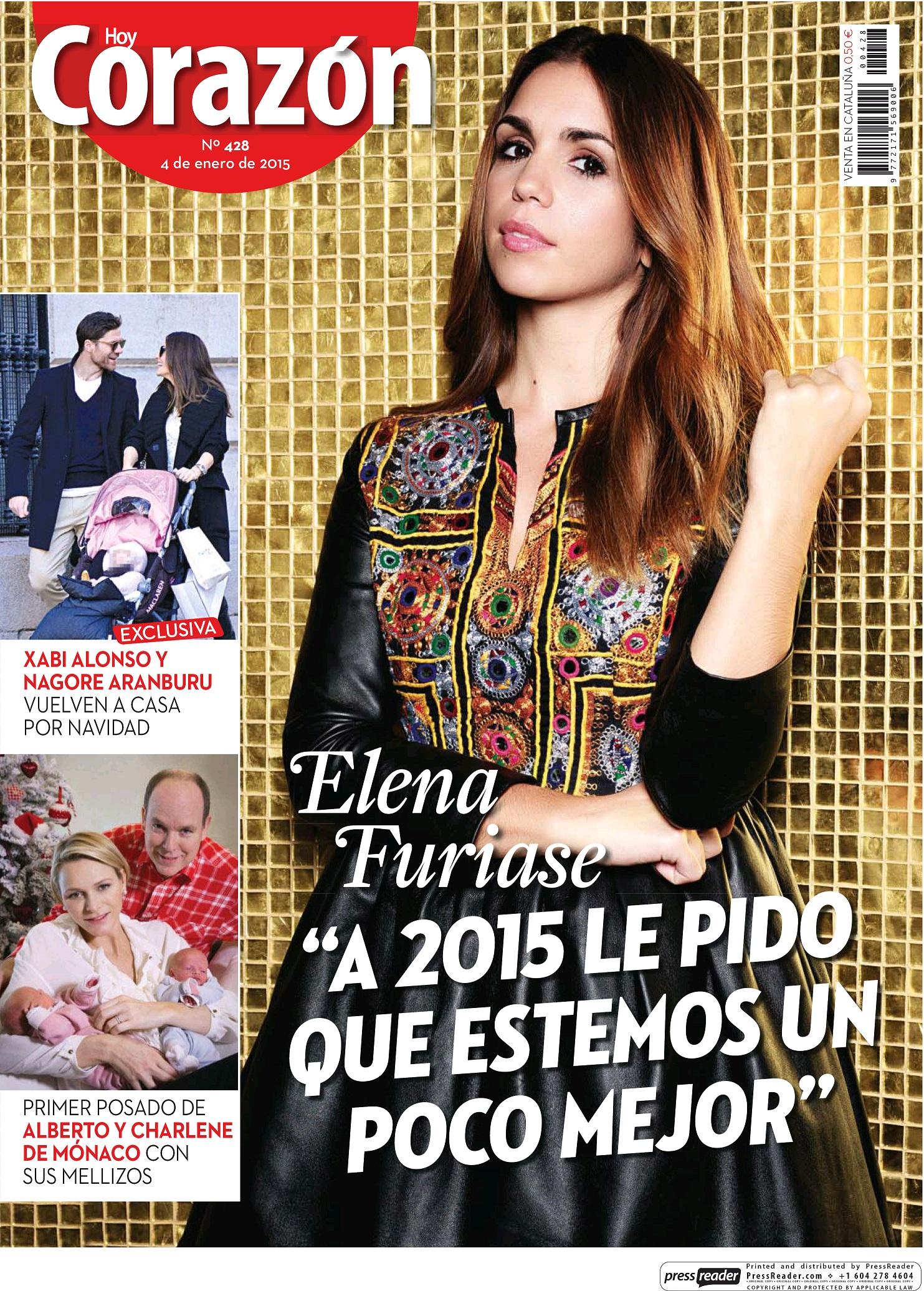 HOY CORAZON portada 4 de Enero 2015