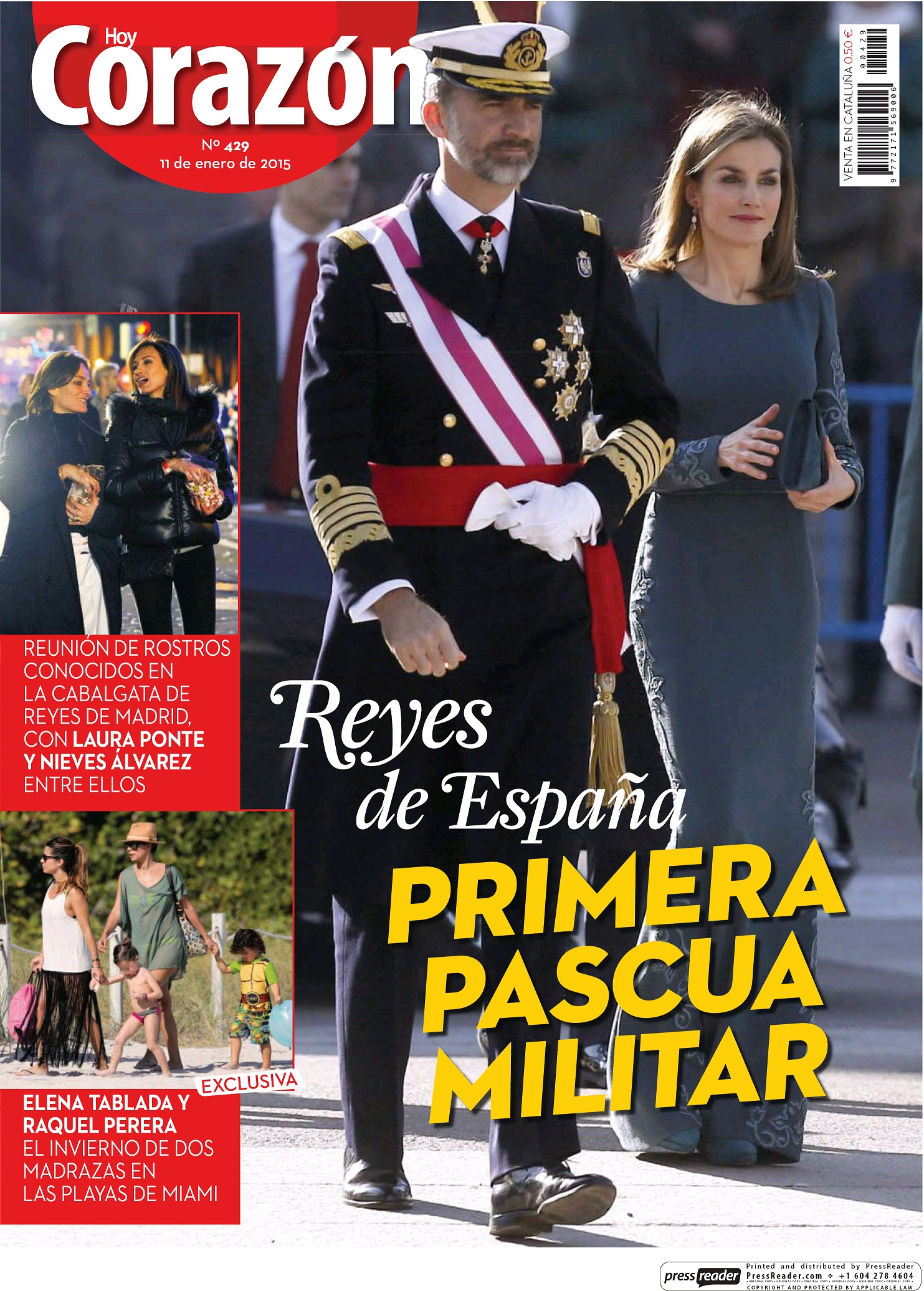 HOY CORAZON portada 11 de Enero 2015