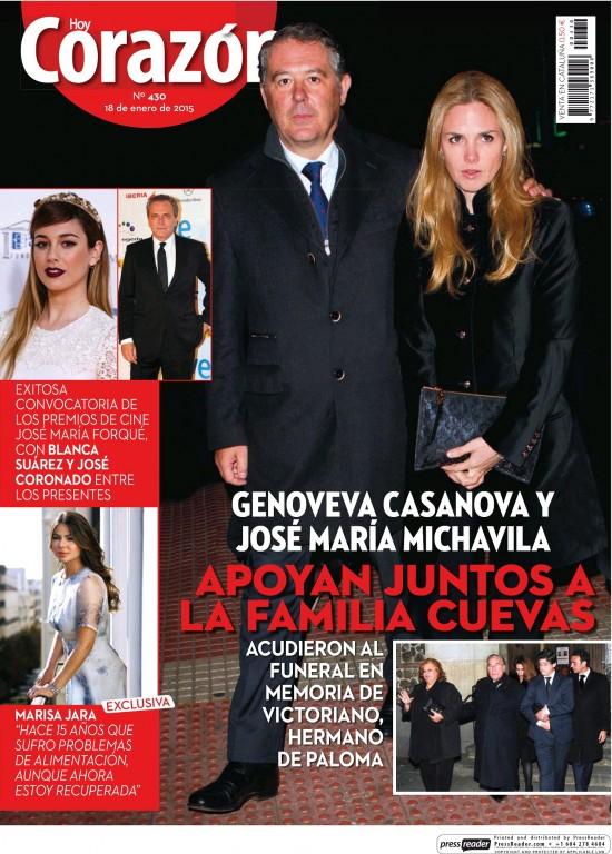 HOY CORAZON portada 18 de Enero 2015
