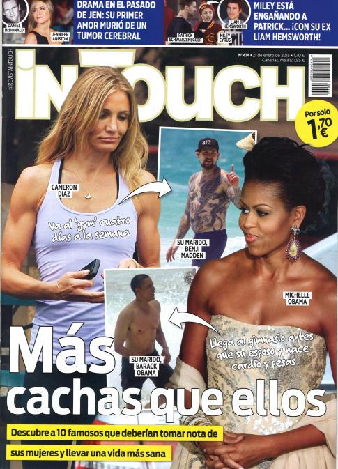 IN TOUCH portada 21 de Enero 2015