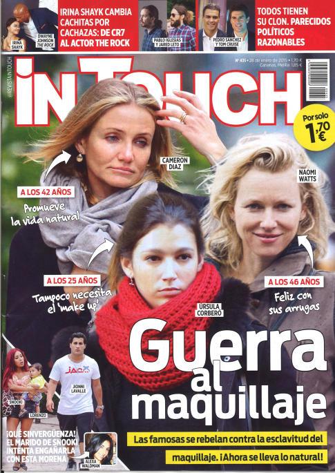 IN TOUCH portada 28 de Enero 2015
