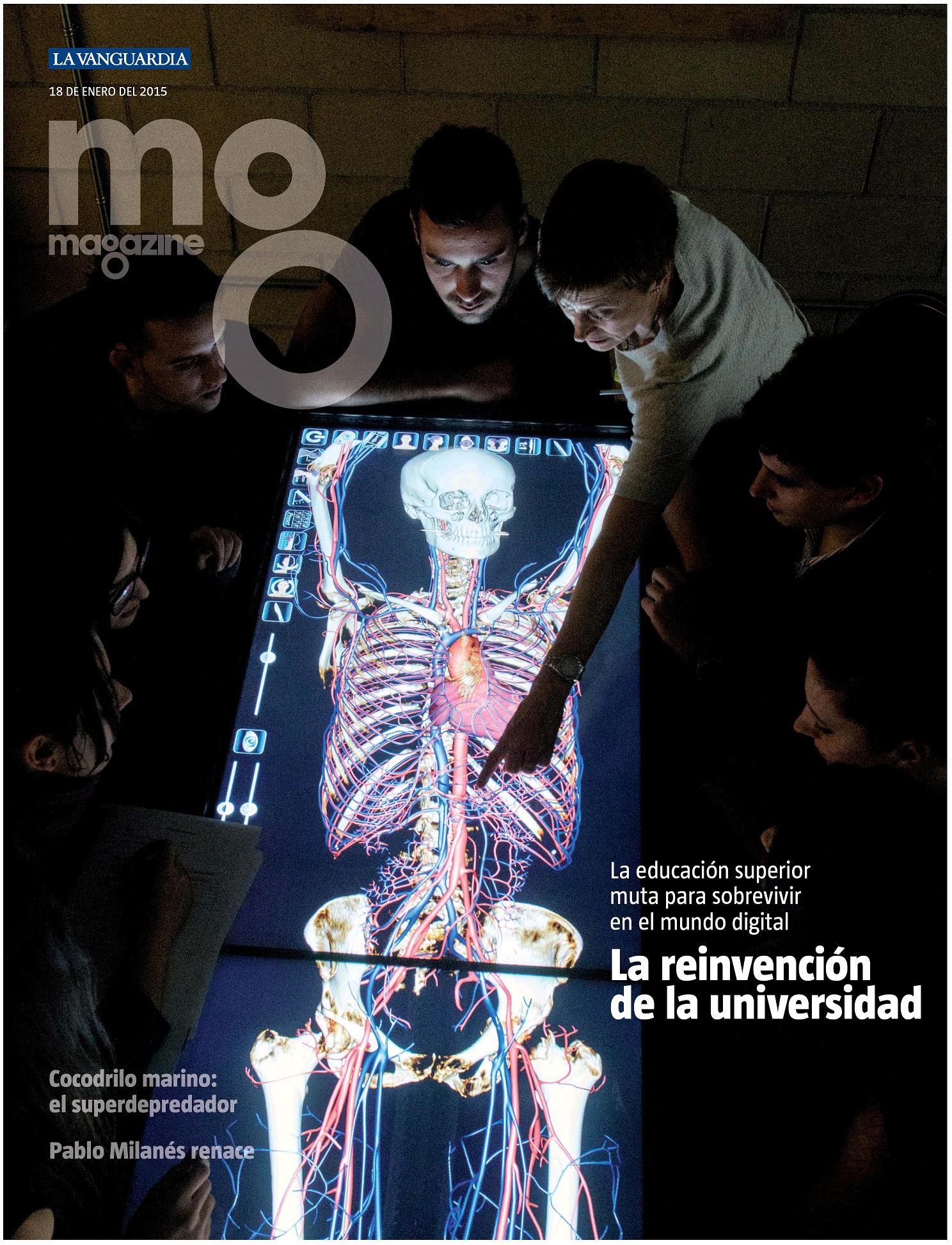 MEGAZINE portada 18 de Enero 2015