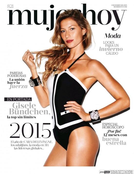 MUJER HOY portada 4 de Enero 2015